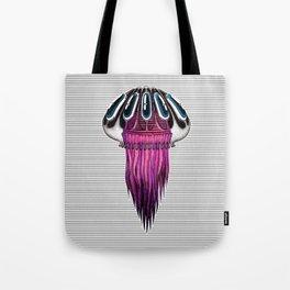 Pink Jellyfish Tote Bag