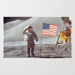American Moon Landing Rug