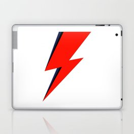 Red Bowie David Lightning Bolt Laptop & iPad Skin