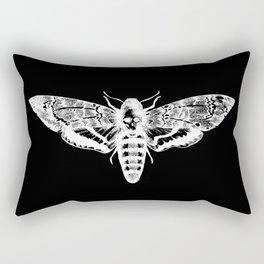 Deathheadsmoth nega Rectangular Pillow