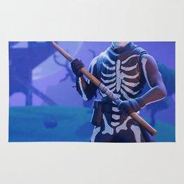 Fortnit Skull Trooper Rug