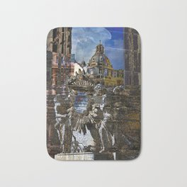 Roman Impression Bath Mat