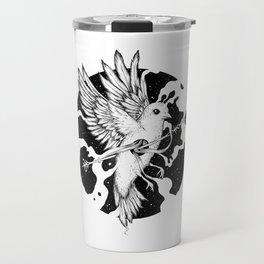 Spilled Existence Travel Mug