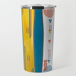SNOWBOARD DESIGN Travel Mug