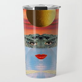 Eyes, lips & dreams Travel Mug