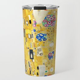 Gustav Klimt The Kiss Travel Mug
