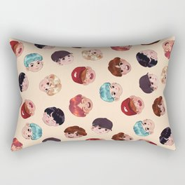 BTS Pattern Rectangular Pillow