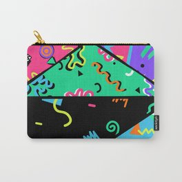 90s Rad Pattern Carry-All Pouch