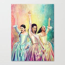 Schuyler Sisters Canvas Print