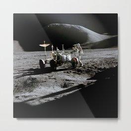 Apollo 15 - Moonwalk 1971 Metal Print