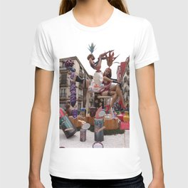 Fallas is an UNESCO world heritage Valencia, Spain T-shirt