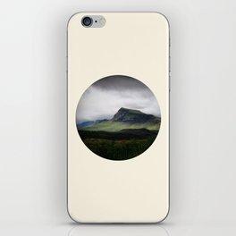Cloudy Cliff iPhone Skin