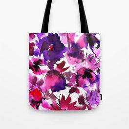 Sara Floral Pink Tote Bag