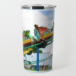Chinese Dragon ride 2 Travel Mug