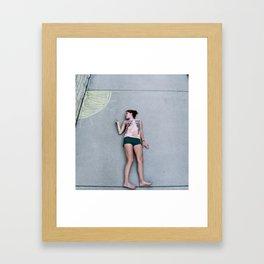 Tightrope Framed Art Print
