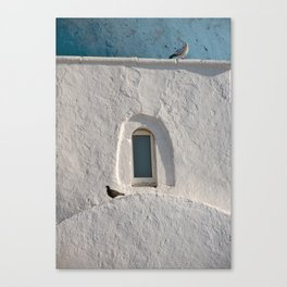 Stone and Light Canvas Print