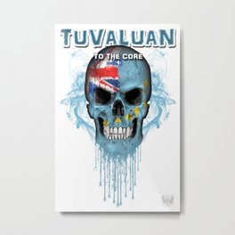 To The Core Collection: Tuvalu Metal Print