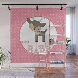 Baby Deer Wall Mural