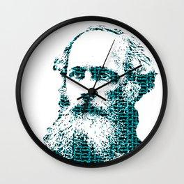 James Clerk Maxwell's Equations Wall Clock