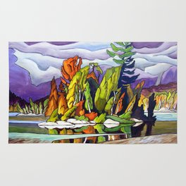 AJ's Little Island by Amanda Martinson Rug