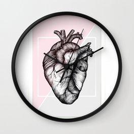Ace of Hearts Wall Clock