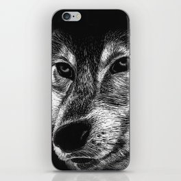 Mister Le Loup iPhone Skin