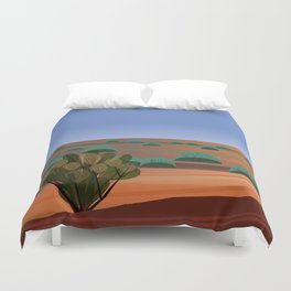 Twilight in the Desert Duvet Cover