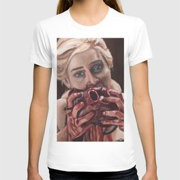 Mother of Dragons Eating a Horse Heart T-shirt