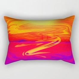 San Francisco's True Colors Rectangular Pillow
