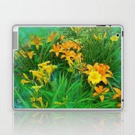 Day-glo Lilies Laptop & iPad Skin