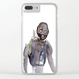 K2SO Watercolor Painting Clear iPhone Case