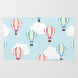 Balloons in the Sky Rug