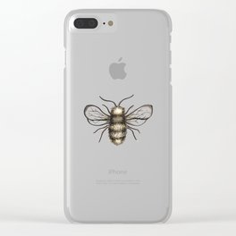 Bumble Bee - Katrina Niswander Clear iPhone Case