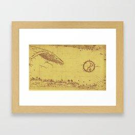 Sublime Cetacean Framed Art Print