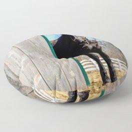 Percheron Horse by Teresa Thompson Floor Pillow