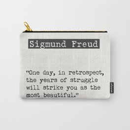 Sigmund Freud quote Carry-All Pouch