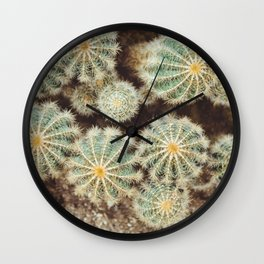 Prickle Me Much Wall Clock