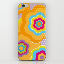 Colorful Blossom iPhone Skin