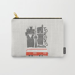 Toronto Cityscape Carry-All Pouch