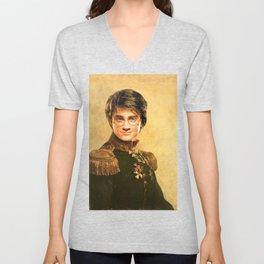 Harry General Portrait Painting   Fan Art Unisex V-Neck