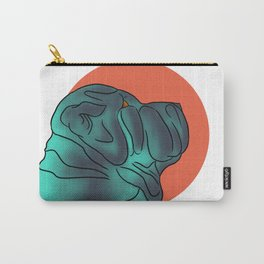 Lil Blue Carry-All Pouch