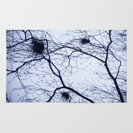 What trees reach for Rug
