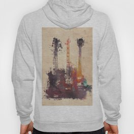 guitars 3 Hoody