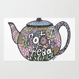 Tea Pot Head Rug