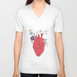 Peace Of Heart Unisex V-Neck