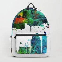 Colorful Cincinnati skyline Backpack