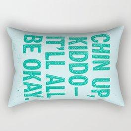 Chin Up Rectangular Pillow