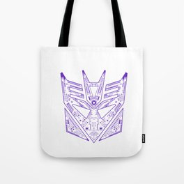Decepticon Tech Purple Tote Bag