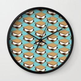 I Need S'more!!! Wall Clock