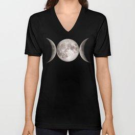 Triple Moon Unisex V-Neck